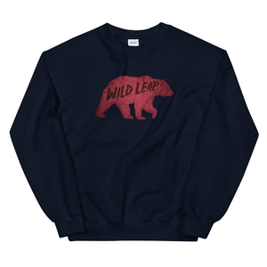 Old School Mosaic | Wild Leap Bear Sweatshirt
