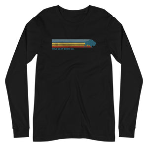 Retro Stripes Long Sleeve Tee