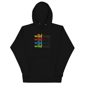 Colorful Word Stack - Unisex Hoodie