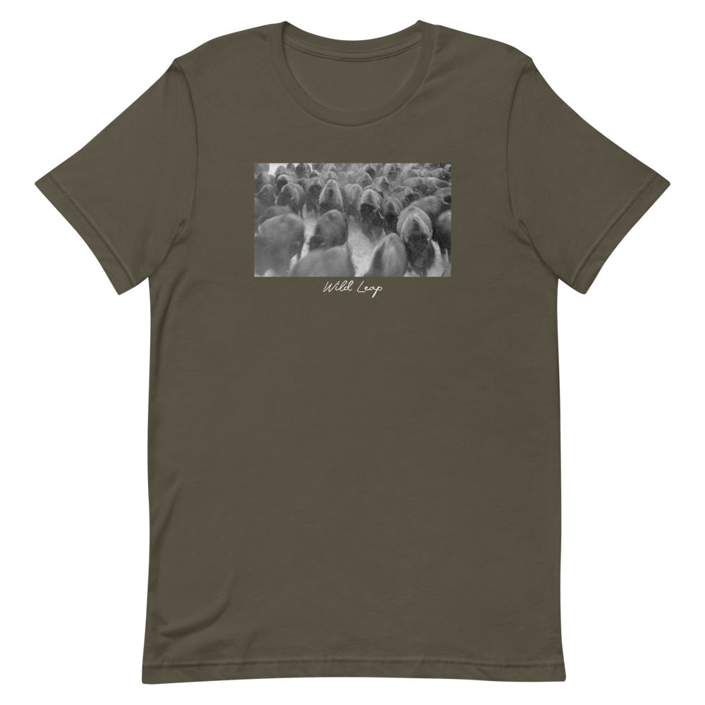 Run With The Herd | Graphic Casual T-Shirt