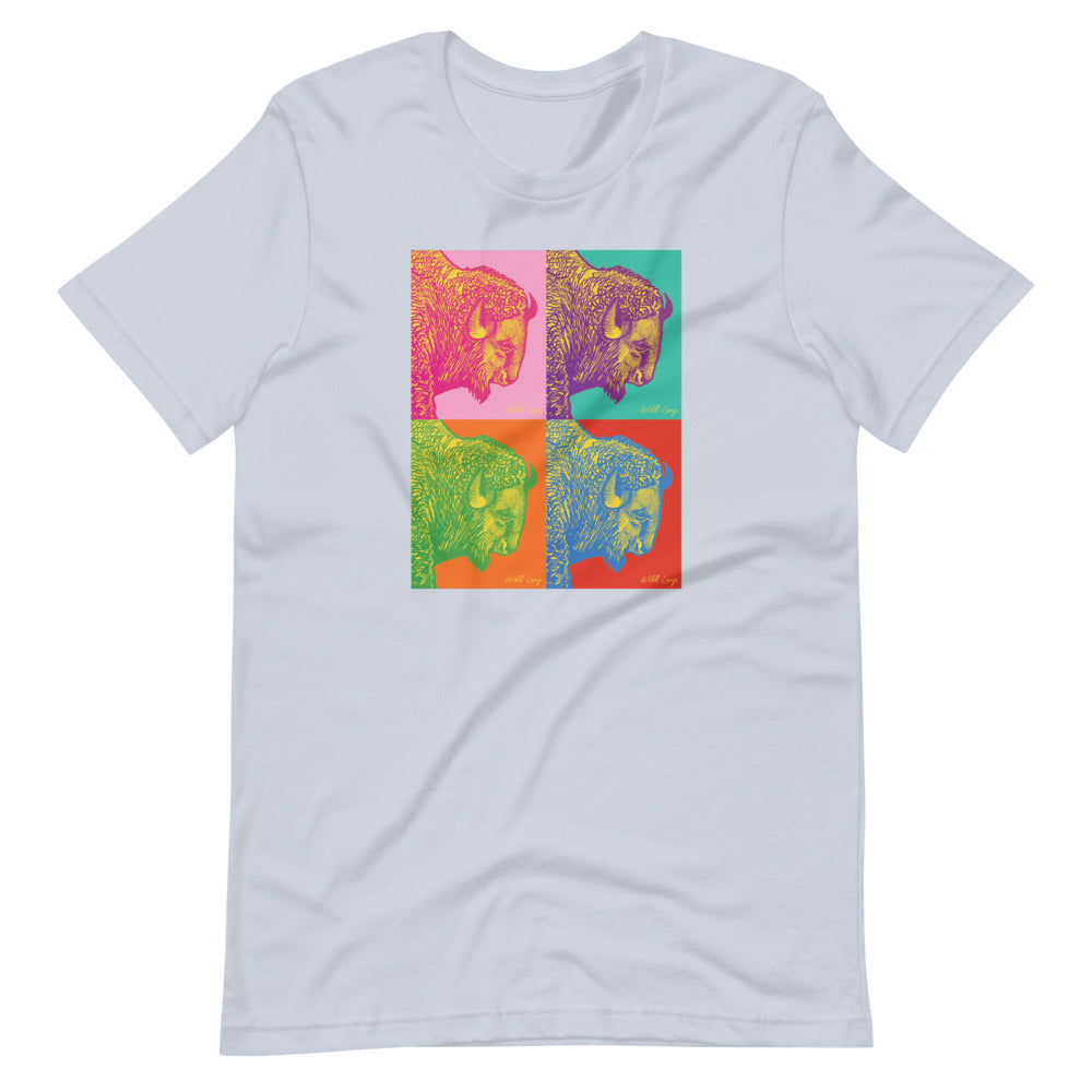 Poster Style | Buffalo Pop Art T-Shirt
