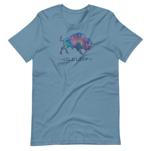Watercolor Tie Dyed Buffalo Unisex T-Shirt