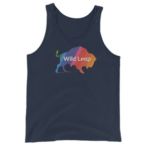 Technicolor Buffalo Tank Top