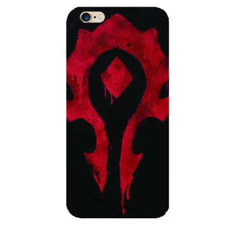 World of Warcraft horde iphone case for iPhone 4 - 6s plus