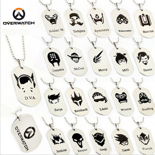Overwatch Dogtags