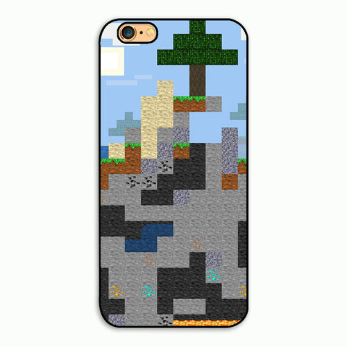 Minecraft pixel biome phone case (Iphone 4-7)