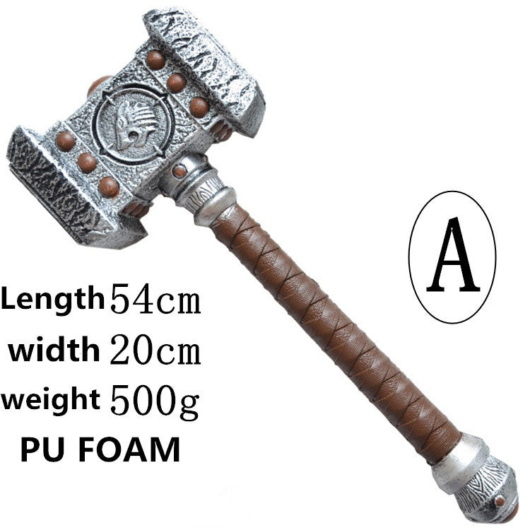 World of Warcraft Ogrim Doomhammer 1:1 (Cosplay Toy)