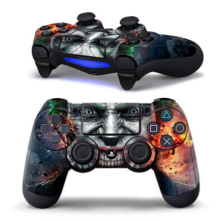 PS4 Controller Joker Decal
