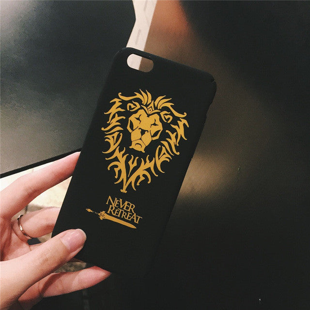 World of Warcraft Horde & Alliance Iphone Covers For Iphone 6-7