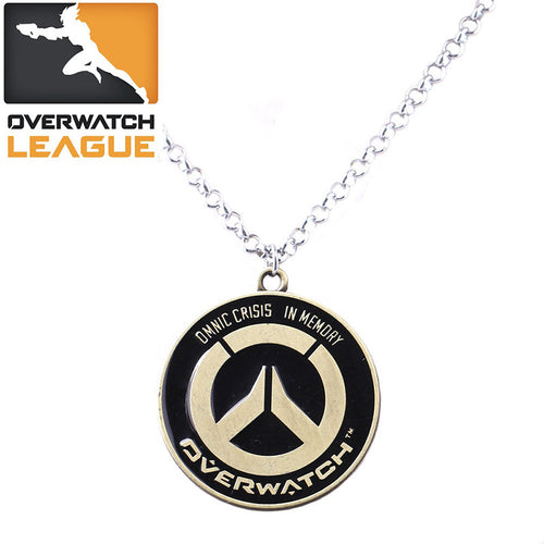 (FREE) Overwatch Necklace - Omnic Crisis Memorial