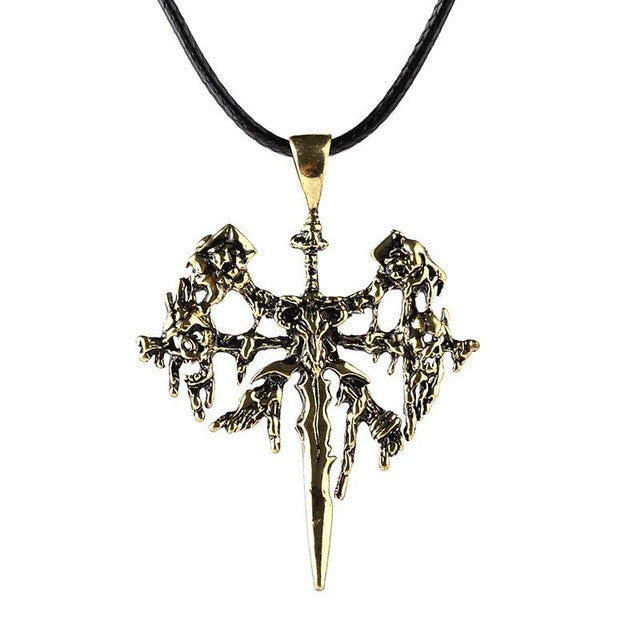 WoW Undead Logo Necklace