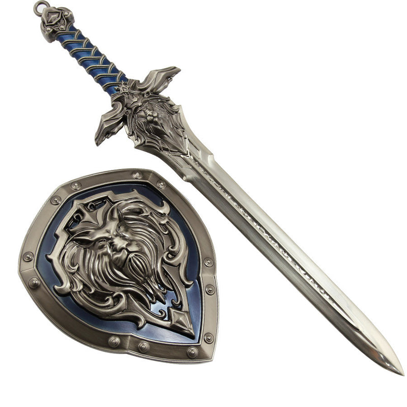 Word of Warcraft Alliance mini Sword + Shield (Limited edition)