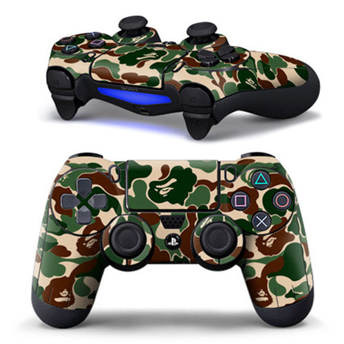 PS4 Controller Camouflage Decal