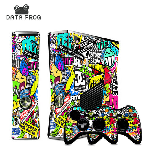Xbox 360 Bomb sticker theme for console and controller