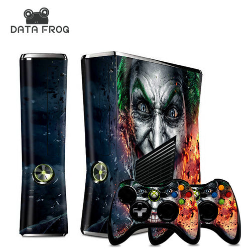 Xbox 360 Joker  Sticker theme for console and controller