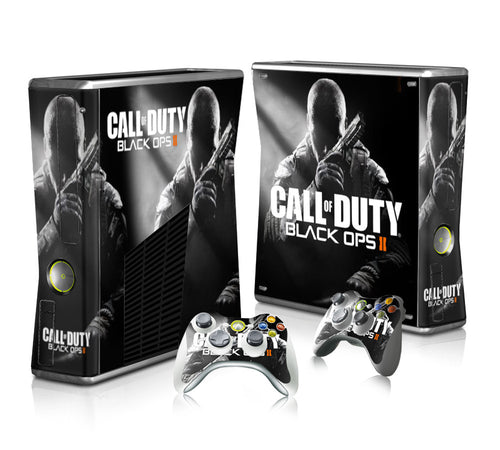 Xbox 360 Black Ops sticker theme for controller and console
