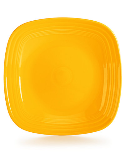 Retired Square Dinner Plate
