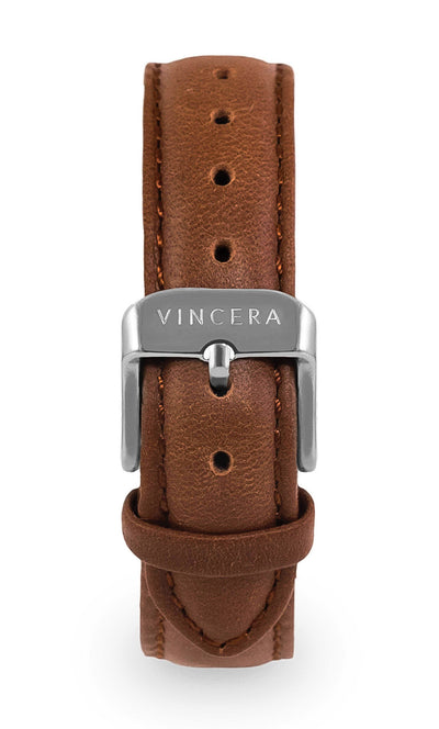 Women's Brown Leather Watch band