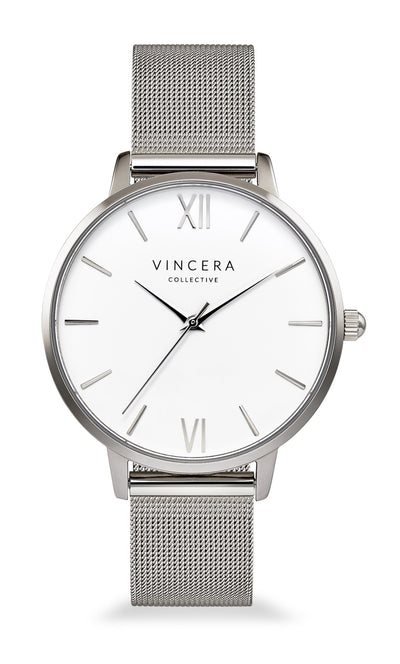 Women's Silver Mesh Watch