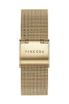 Gold Mesh Women's Watch Band