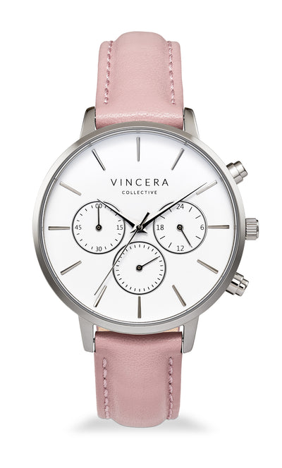 Women's Pink Chronograph Watch