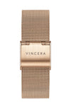 Rose Gold Mesh Women's Watch Band