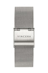 Silver Mesh Women's Watch Band