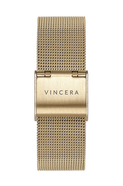 Women's Gold Mesh Watch Band