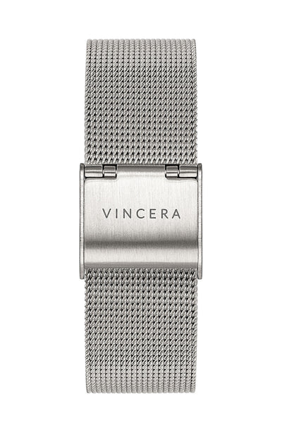 Women's Silver Mesh Watch Band
