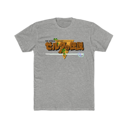 The Hyrule Fantasy Unisex Cotton Crew Tee