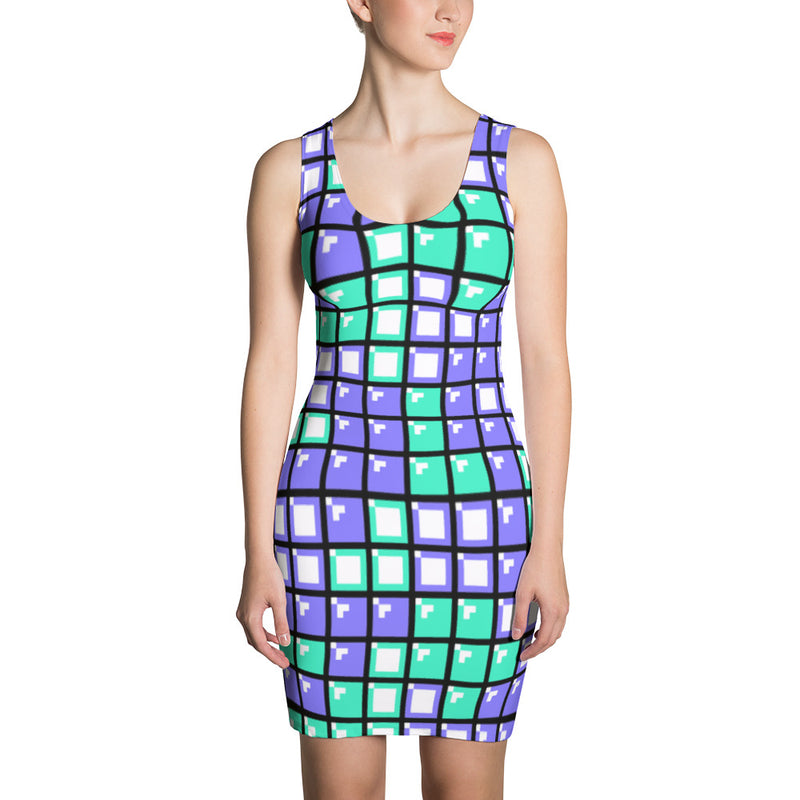 Tetris Sublimation Cut & Sew Dress