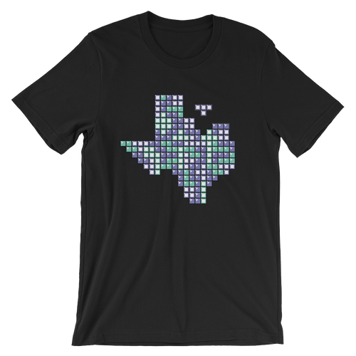 Texas Tetris Short-Sleeve Unisex T-Shirt