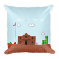 Remember the Alamo Square Pillow