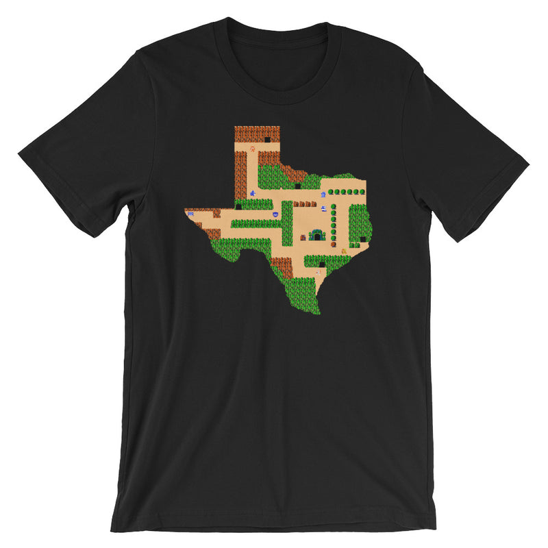 The Legend of Texas Short-Sleeve Unisex T-Shirt