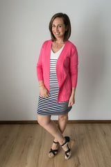 Carey Cardigan - Coral