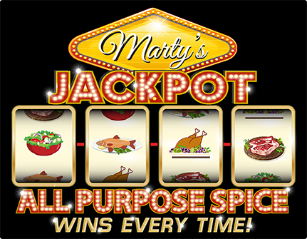 Marty's Jackpot Label