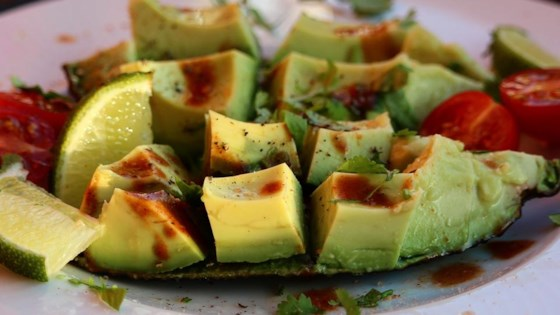 Spicy Avocado Snack