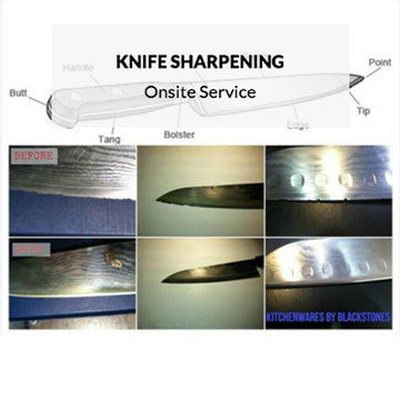 Professional Knife Sharpening at KitchenWares by Blackstones