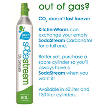 SodaStream Cylinder Exchange