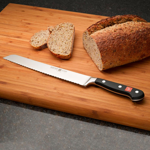 "Wusthof Classic Double-Serrated Bread Knife 9""  4152-7/23"
