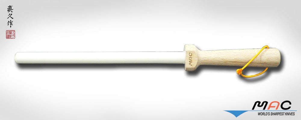 MAC White Ceramic Honing Rod 8 1/2""