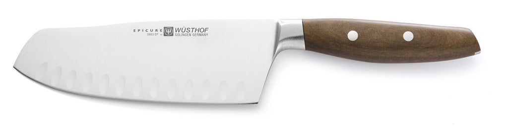 "Wusthof Epicure Santoku, Hollow Edge 7""  3983-7"