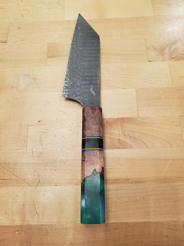 """The Hulk"" Damascus Bunka 6"""