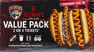 Florida Panthers Announce Feltman's Value Pack Ticket Offer
