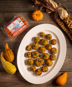 Thanksgiving Stuffed Feltman's Mushrooms