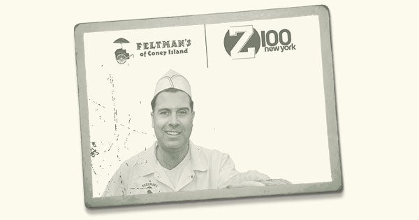 Z100's Skeery Jones Name Checks Feltman's Hot Dogs