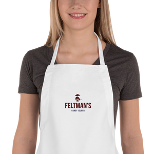Feltman's Embroidered Apron