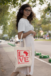 Love Africa Tote Bag