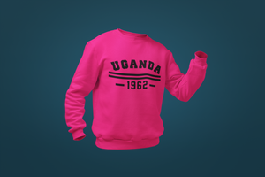 Uganda Stripes Independence Sweatshirt