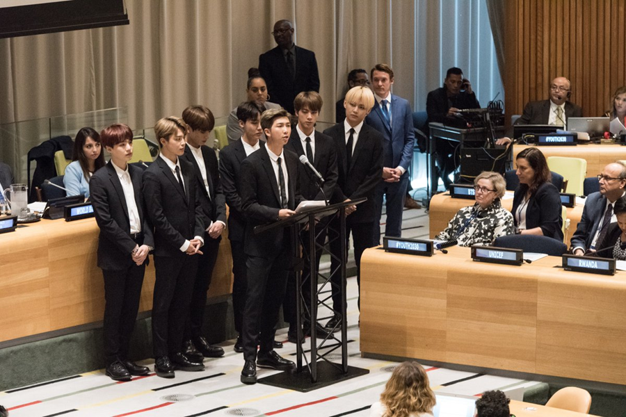 United Nations Youth Initiative Ft. BTS